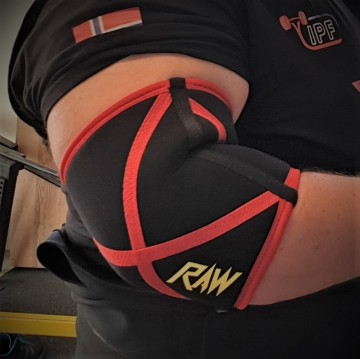 RAW elbow sleeves 9mm